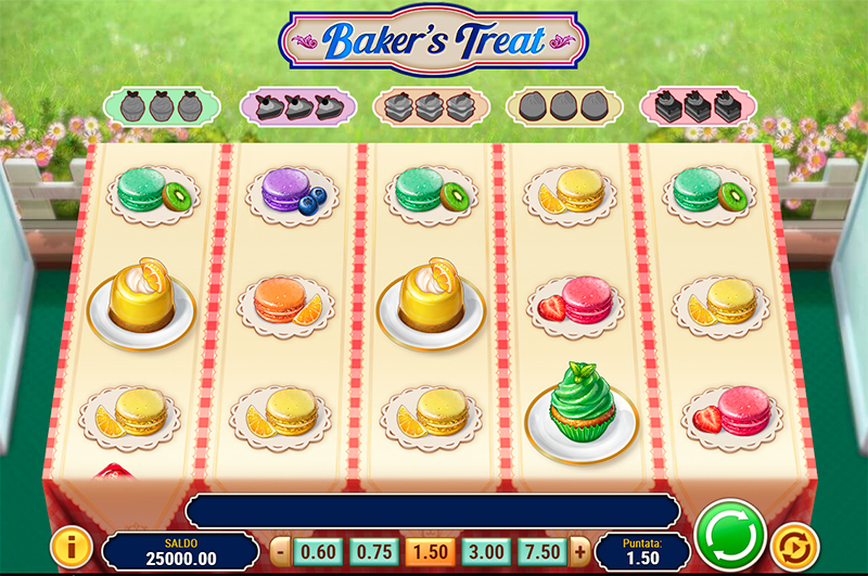 Baker's Treat — азартный игровой автомат с выводом денег