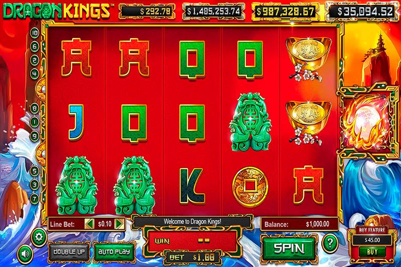 Легкий вход в казино Поинт Лото и слот Dragon Kings