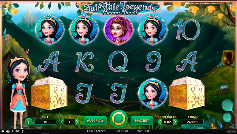 Слот Fairytale Legends: Mirror на сайте казино Вулкан Старс