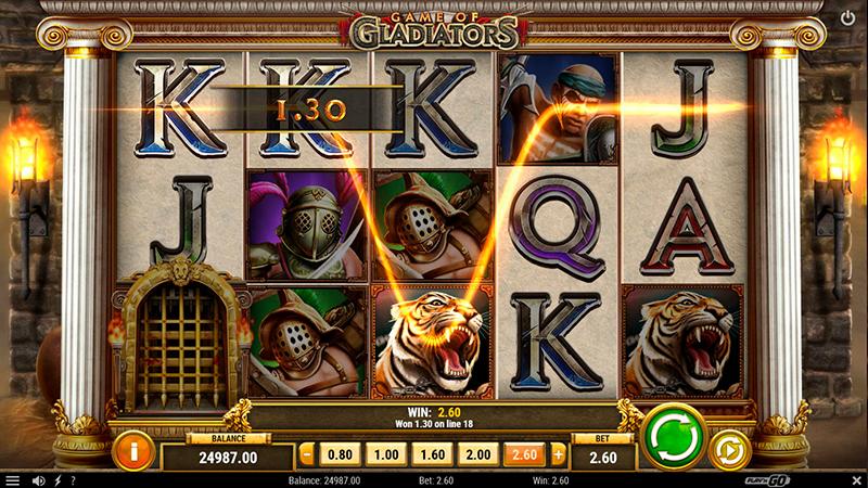 Слот Gladiator Jackpot в онлайн казино на сайте slot-oker.com