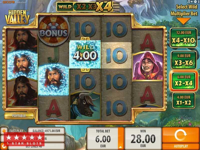 Hidden Valley в в новом онлайн-казино Silver