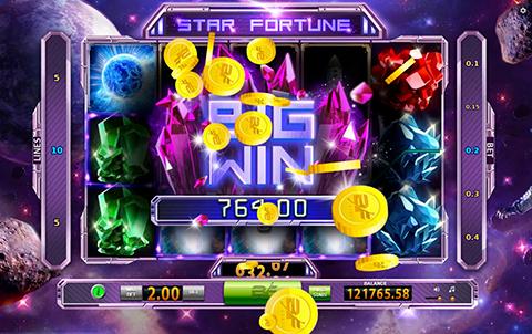 Космическое путешествие в слоте Star Fortune на сайте казино Casinometric