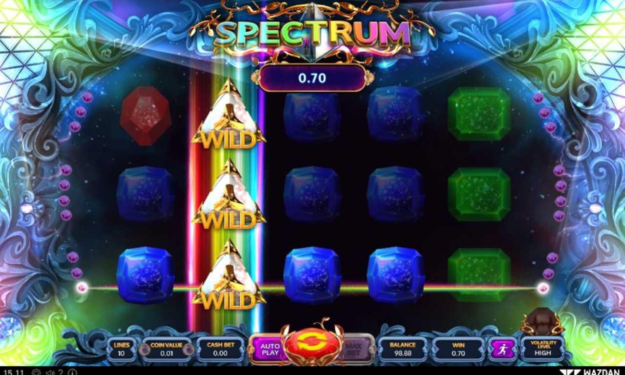 Символ Wild в игровом автомате Spektrum