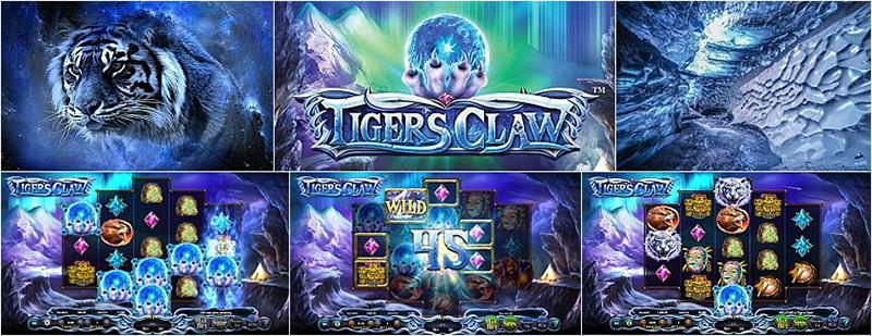 Cлоте Tiger's Claw на сайте online-slotz.net