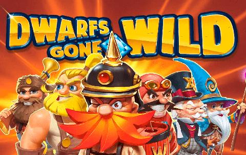 Игровой автомат от QuickSpin — Dwarfs Gone Wild в казино Vulkan