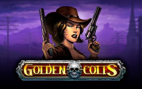 Мрачная атмосфера игрового автомата Golden Colts в онлайн казино Фараон