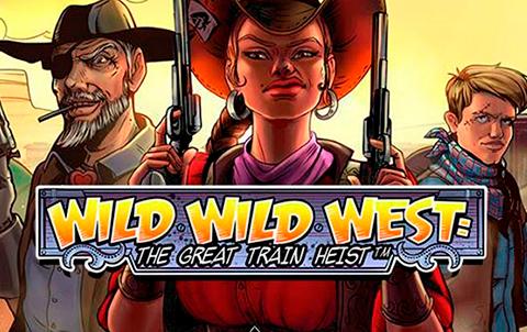 Слот Wild Wild West: The Great Train Heist на официальном сайте казино Вулкан