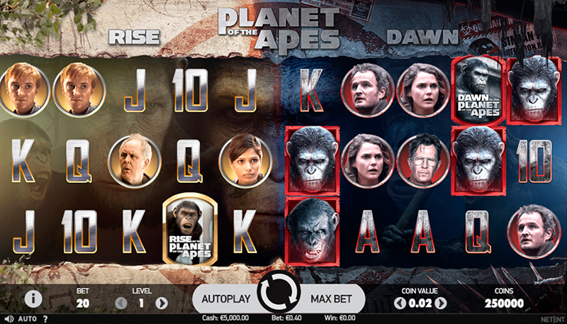 СЛОТ PLANET OF THE APES