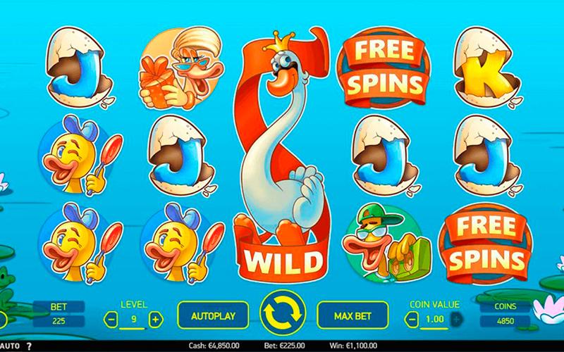 Scruffy Duck — новый анимационный слот от NetEnt