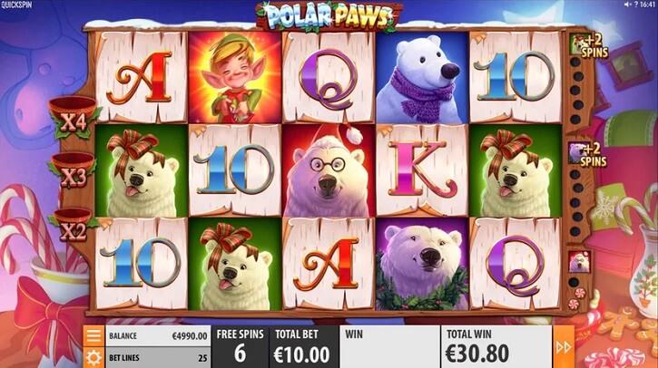 Игровой автомат Polar Paws на сайте казино ПМ Казино