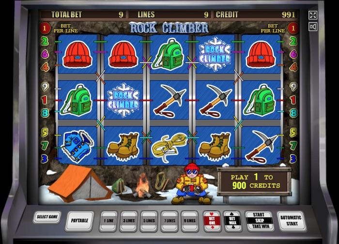 Игровой автомат Climb