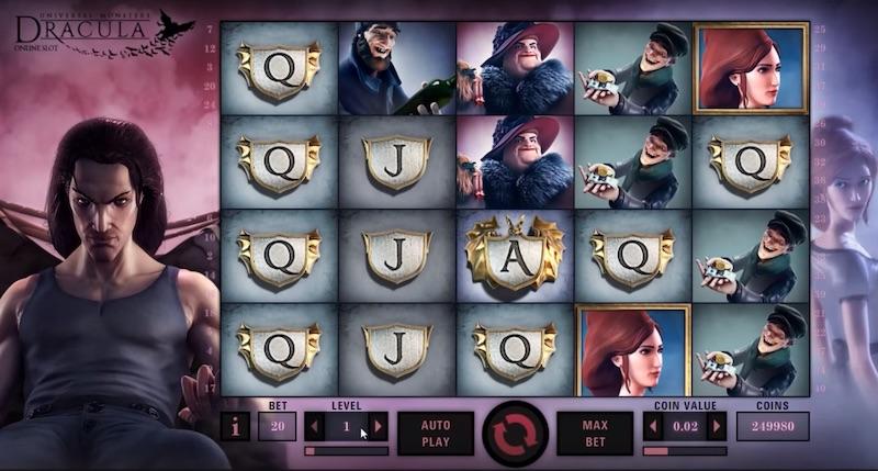 Игровой автомат Дракула