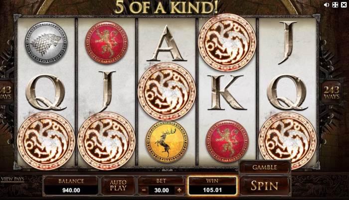 Игра престолов - игровой автомат