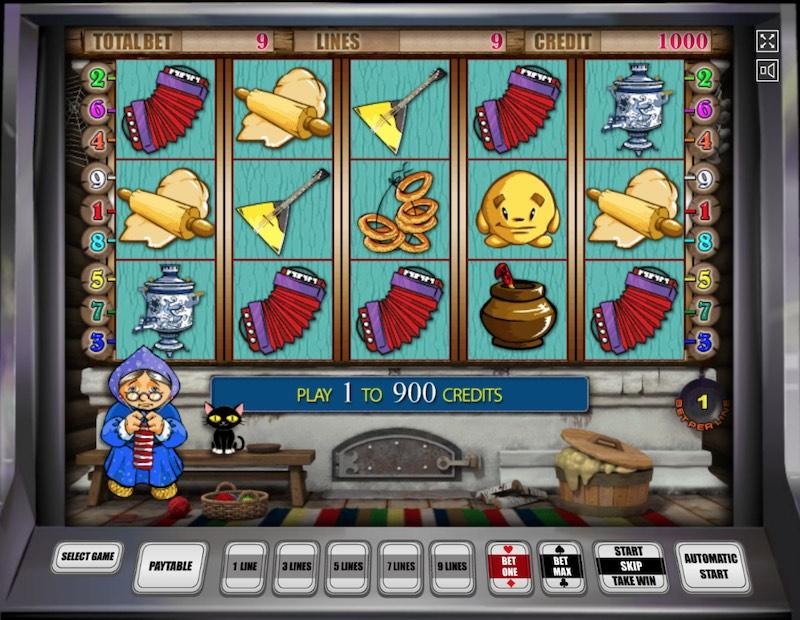 Колобок. Игровой автомат