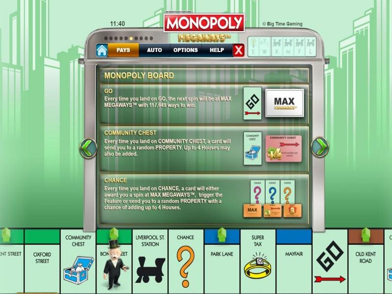 Monopoly Megaways слот