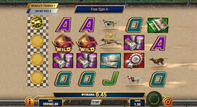 Слот Wildhound Derby бесплатные спины