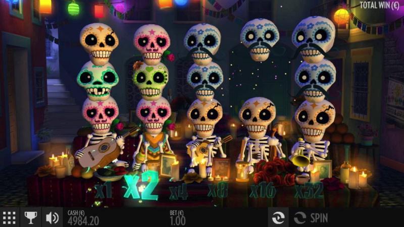Слот Esqueleto Explosivo 2