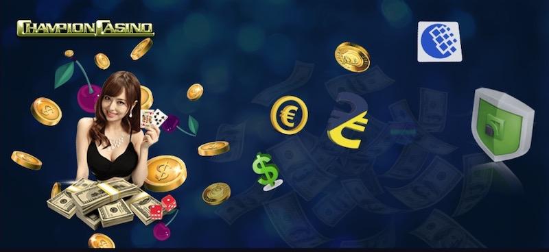 Способы выплат в онлайн казино Чемпион