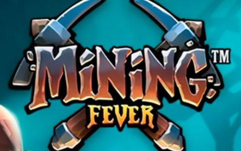 Двигайтесь к подземным шахтам, чтобы добыть золотые слитки в слоте Mining Fever в казино Вулканбет!