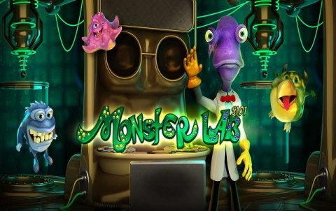 Космолот официальный сайт представляет азартную машину Monster Lab
