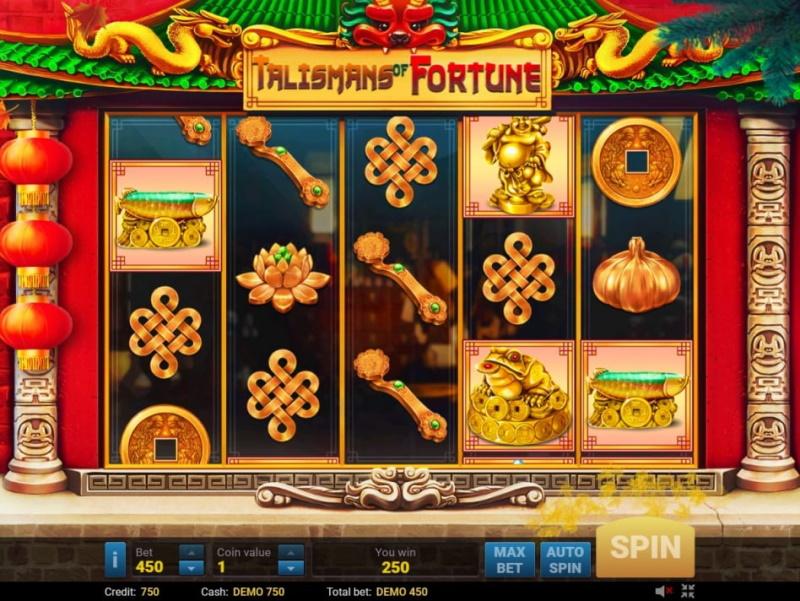 Слот Talismans of Fortune в казино Адмирал 777