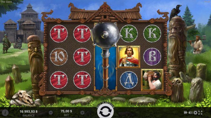 Игровой автомат Славяне (The Slavs) в казино Riobet