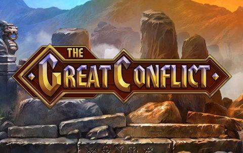 Игровой аппарат The Great Conflict в онлайн казино Поинт