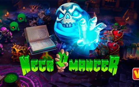 Игровой автомат Necromancer в казино Фараон