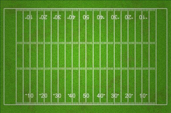 Поле для регби американского футбола