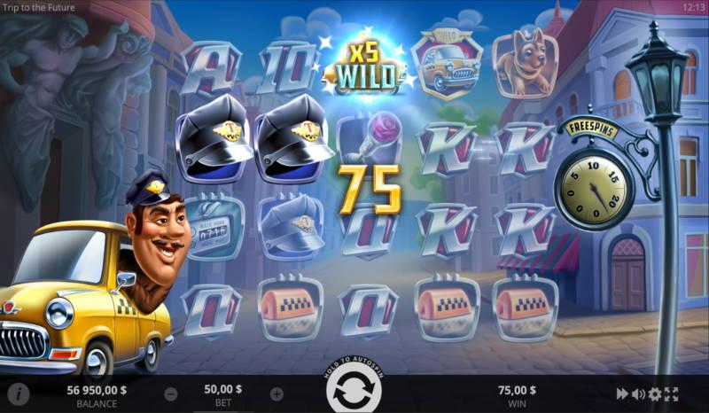 Игровой автомат Trip to the Future в казино Эльслотс