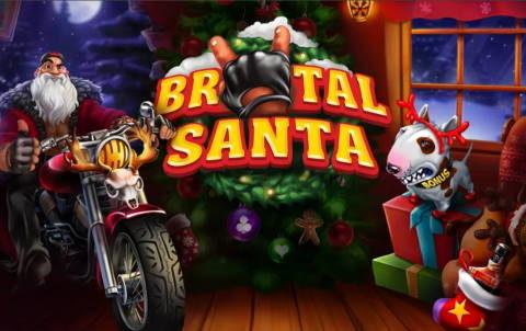 Игровой автомат Brutal Santa в казино Франк