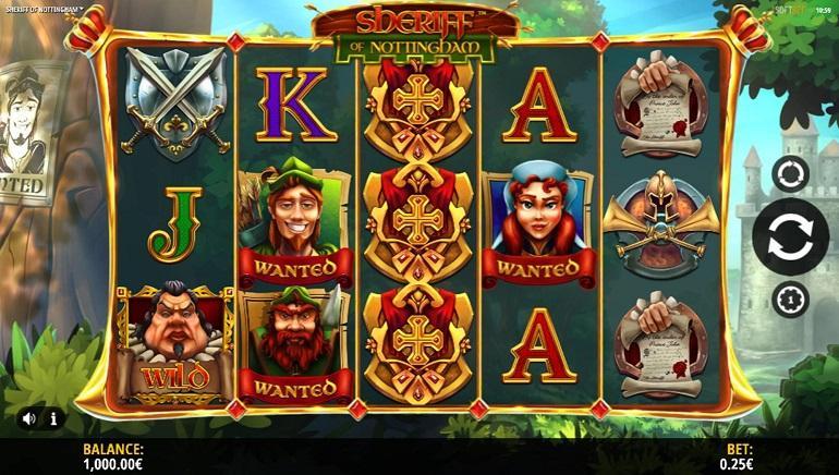 Слот Sheriff of Nottingham в онлайн казино