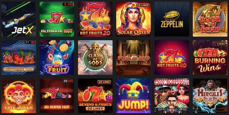 Игровые автоматы Париматч