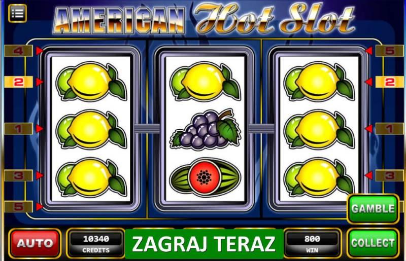 Игровой автомат American Hot клуб-вулкан.net