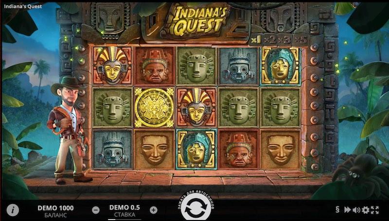 Игровой автомат Индиана Квест