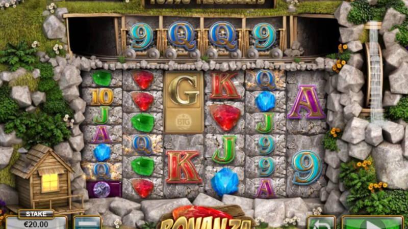Игровой автомат Bonanza в казино Джокер ВИН