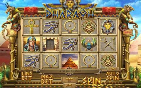 Игровой автомат Pharaoh в азартном клубе Космолот онлайн