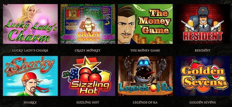 Другие слоты казино Эльдорадо
