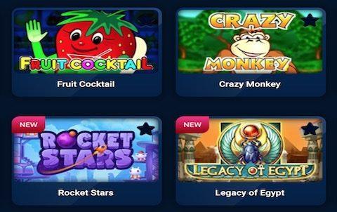 Игровые автоматы в казино Вулкан на реальные деньги