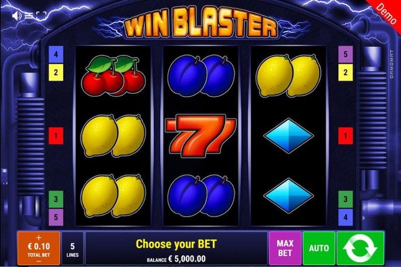 Слот Win Blaster