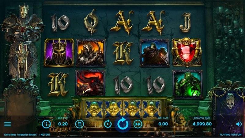 Игровой автомат Dark king