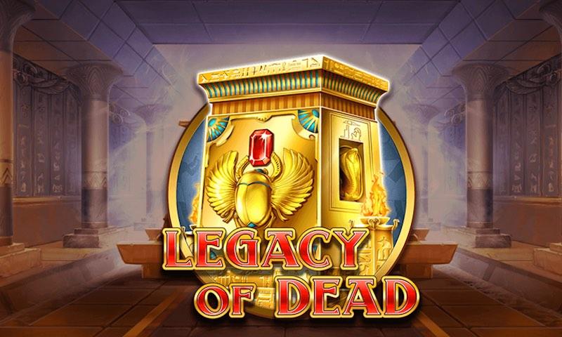 Игровой автомат Legacy of dead в казино Космолот