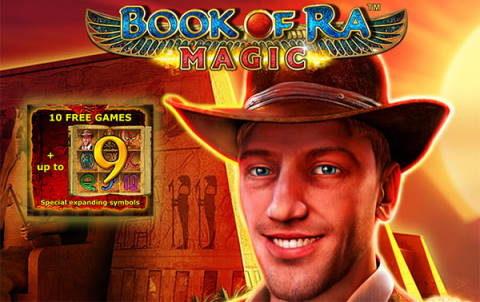 Слот Book of Ra Magic в онлайн казино