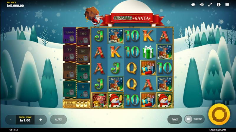 Символы слота Christmas Santa в онлайн казино Джокер