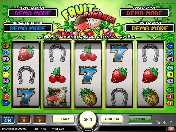 Слот Fruit Bonanza в казино 1xbet