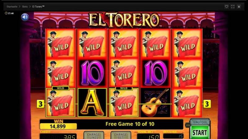 Барабаны слота El Torero в онлайн казино Джокер