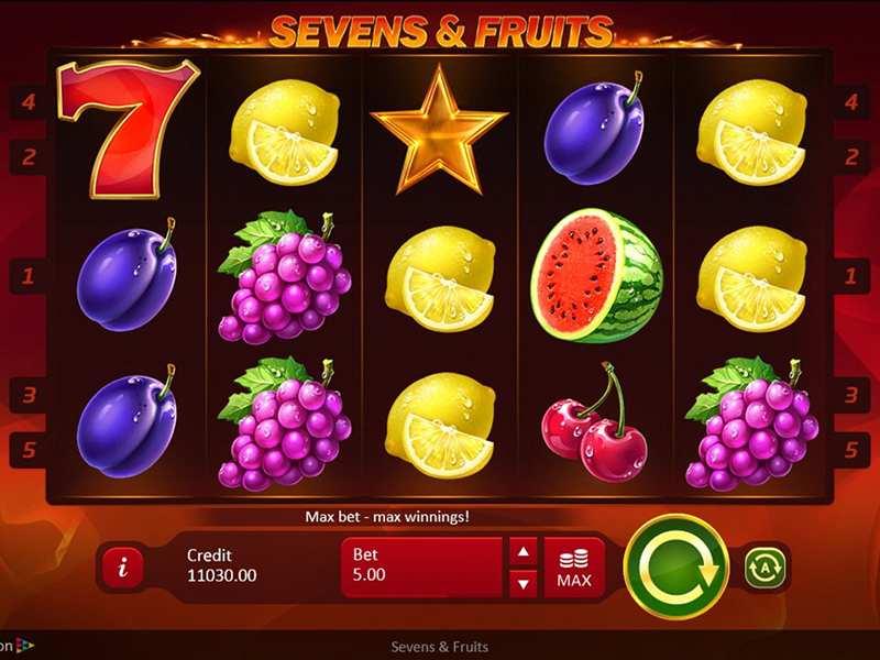 Слот Classic Seven Fruits на официальном сайте клуба Космолот