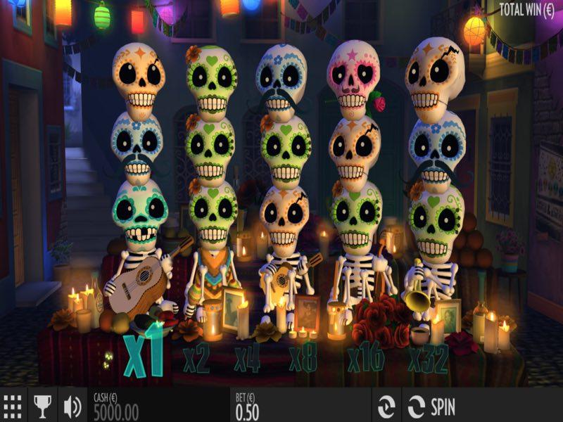 Игровой автомат Esqueleto Explosivo в казино Джокер