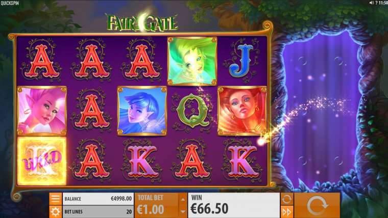 Барабаны слота Fairy Gate с выводом денег в онлайн казино Казахстана