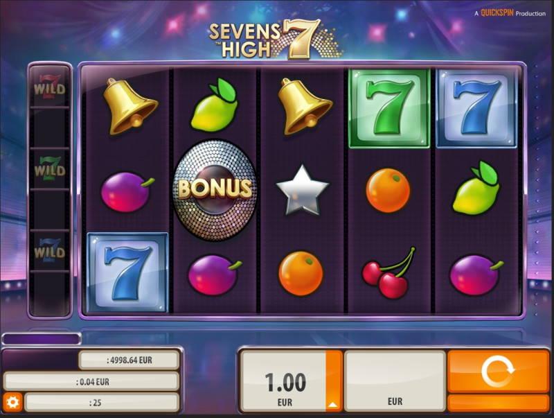 Игровой автомат Sevens High в Вулкан казино Україна